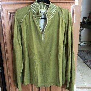 Tommy Bahama 1/4 zip sweater